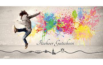 Itzehoer Gutschein Graffiti