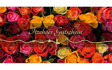 Itzehoer Gutschein Rosen
